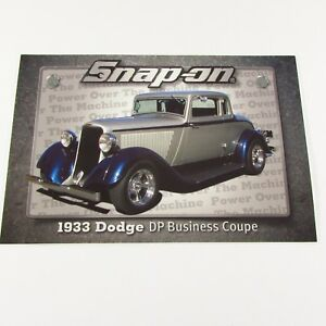 Snap On Tools Sticker Decal 1933 Dodge Dp Business Coupe Tool Box Fridge