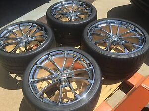 New Gm Corvette Grand Sport 19 20 Chrome Cup Wheel Michelin Zp Tire C7 Z06 Z07
