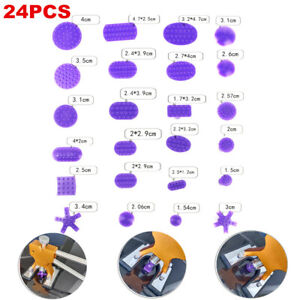 24pcs Removal Tool Auto Car Body Paintless Dent Repair Tools Glue Puller Lifter