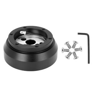 Black Steering Wheel Hub Adapter For Dodge For Gm For Gmc For Cheverolet