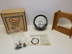 Dwyer 2005 Magnehelic Differential Pressure Gauge Range 0 5 Inches Of Water