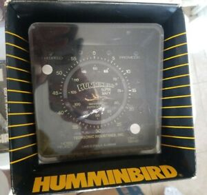 NEW SEALED Vintage Hummingbird Super Sixty Waterproof Depth Sounder WPS 60
