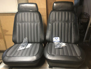 1967 1968 1969 Camaro Deluxe Seats New Foam Covers With Tracks