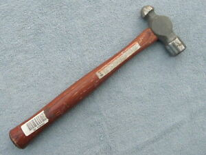 Craftsman Ball Peen Pien Body Hammer With Wood Handle 12oz 38484