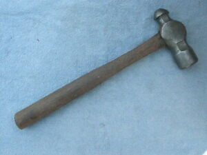 Large Vintage Vaughan Ball Peen Pein Body machinist Wood Handle Hammer Usa