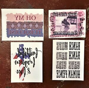 Sublimation Transfer Design Lot Of 10 Western Southern Assortment Heat Transfers