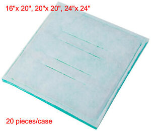 Series 45 Paint Spray Booth Tacky Intake Filter Pads 20 Pieces
