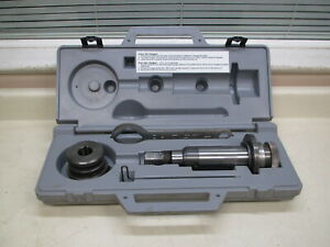 Ridgid 48405 8 12 Roll Set For 918 Hydraulic Groover W Case Complete Used