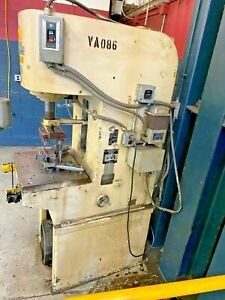 12 Ton Denison C Frame Hydraulic Press Stroke 12 Inches Ram Size 2 75 Bed S