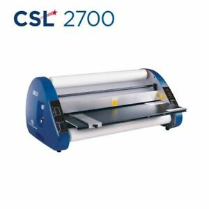 Usi Thermal Roll Laminator Csl 2700 Laminates Films Up To 27 Wide And 3 Mil T