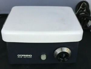 Vintage Corning Pc 35 Ceramic Top Laboratory Hot Plate