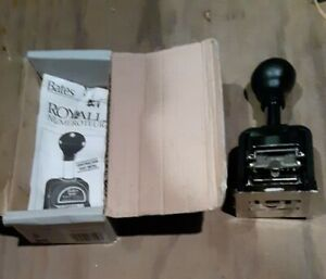 Vintage Bates Royall Automatic Metal Numbering Machine Numeroteur Model Rnm6 7