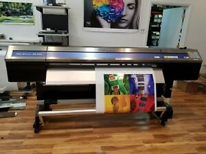 Roland Soljet Pro 4 Xr 640 Printer Fully Refurbished New Inks Print heads