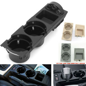 Center Console Cup Holder Console Coin Box Holder Storage For Bmw 3 Series E46