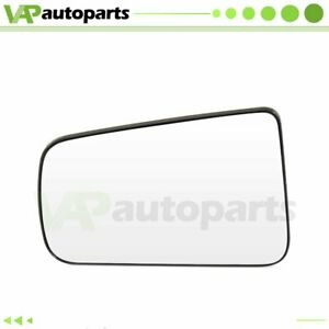 Fits 2008 2011 Ford Focus Chrome Flat Mirror Glass Left Driver Side View Mirror