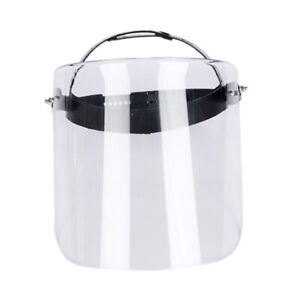 Clear Safety Welding Cutting Logging Full Face Shield Visor Protective Gear