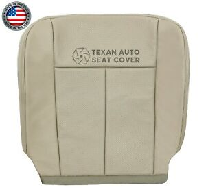 2007 2014 Ford Expedition Xlt El Xlt Driver Side Bottom Leather Seat Cover Tan