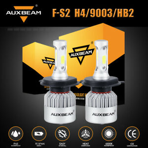 Auxbeam Led Headlight Kit H4 9003 Hb2 6000k Bulb Hi lo For Honda Civic 2001 2003
