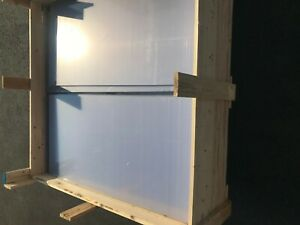 Polycarbonate Sheet 1 Piece 48 X 23 75 X 1 8 Brand New With Protective Film