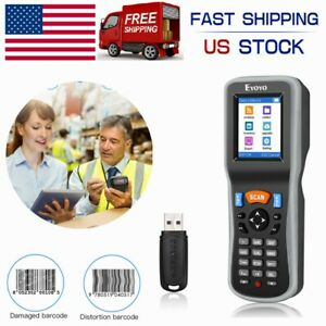 1d Wireless Barcode Scanner Inventory Bar Code Reader 2 2 Tft Color Lcd Screen