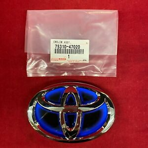 New Oem Toyota Front Grille Logo Emblem Or Prius Rear 75310 47020 Made In Japan