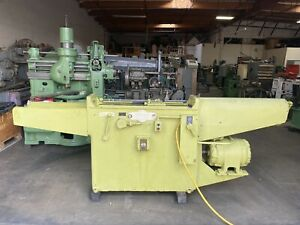 American 2 Ton Horizontal Broaching Machine