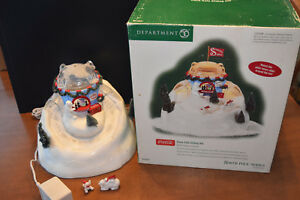 Dept. 56 COCA COLA SLIDING HILL  North Pole Series - Heritage Village Collection