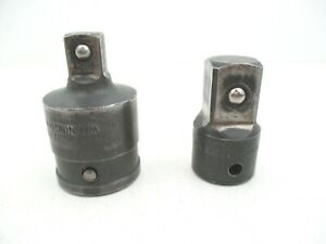 Snap On 2 Piece Adapter Set 1 2 To 3 4 3 4 To 1 2 Square Drive Adaptor
