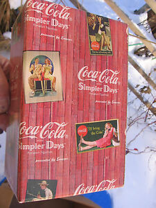 Coca Cola BOX ONLY A Friend is Someone Who Reaches for Your Hand & Touches Heart