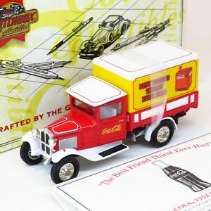 Matchbox Collectibles - 1932 Ford AA Coca Cola Vending Machine Truck - YYM96507