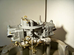 Holley 650 Cfm Double Pumper 4777 Plated And Polished And Rebuilt