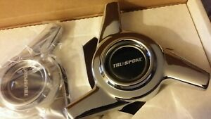 Tru spoke 3 Bar Swept Wing Spinners Nos Four 4 With All Attaching Parts