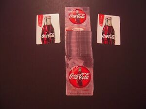 COCA-COLA Playing Cards  Complete Deck  Opened But Unused  Original Box