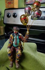 COCA-COLA EMMETT KELLY Century 1998 Shelf Sitter Clown w/Balloons Limited Ed.