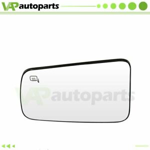 For 2008 2011 Ford Focus Chrome Heated Flat Mirror Glass Driver Side View