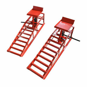 Brand New Auto Car Service Ramps Lifts Loading 3 Tons 6600lbs Ramps Lifts239027