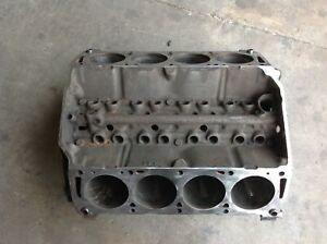Ford Fe 390 360 352 Engine Block Ribbed Industrial