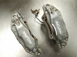 As Is 04 08 Acura Tl Type S Sport Brembo Front Brake Calipers Factory