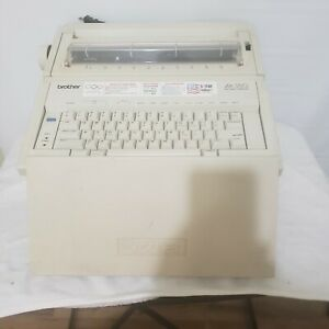 Brother Electronic Typewriter Model Ax350 works needs A New Ribbon