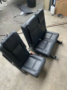 2015 2017 Ford Expedition Xlt L 3rd Power Seats Third Row Black