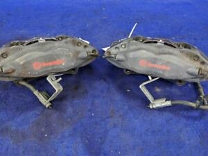 2011 2014 Ford Mustang Gt 4 Piston Track Pack Brembo Front Brake Calipers