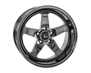 Cosmis Racing Xt 005r 18x9 25mm 5x120 Black Chrome Rim Wheel
