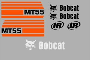 Mt55 Mt 55 New Decal Kit Sticker Set Mini Skid Loader Skid Steer Fits Bobcat