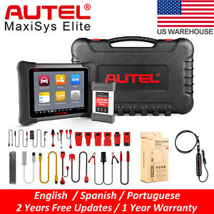 Autel Maxisys Elite Auto Diagnostic Scan Tool J2534 Ecu Programming For Benz Bmw
