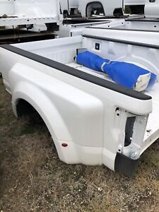 2020 F350 Dually Bed Star White Metallic