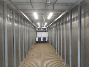 Refrigerated Meat Rail Conex Trailer Freezer Or Cooler High Cube Conex Box 2021