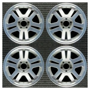 Set 2005 2006 2007 2008 2009 Ford Mustang Oem Factory Silver Wheels Rims 3649