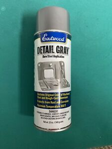 Eastwood Anti Rust Acrylic Detail Gray Lacquer Spray Paint Aerosol 12 Oz