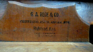 Antique Spice Cabinet Box Cupboard Apothecary 8 Drawers Halstead Ks Kansas
