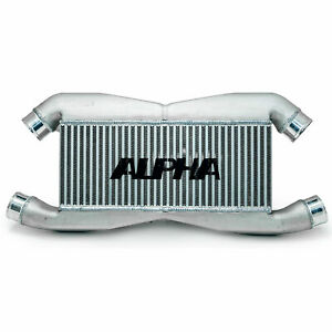 Ams Alpha Bolt On Front Mount Intercooler For 2009 15 Nissan Gt R R35 Gtr